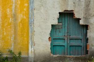 blue door revealed
