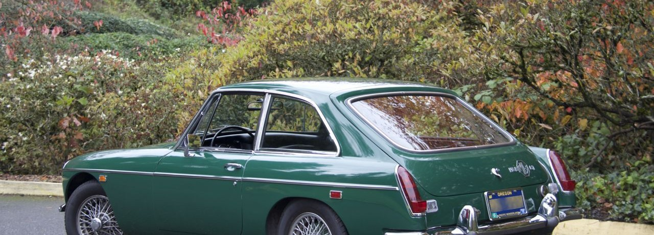 2014 Moss Motoring Challenge with a 1969 MGB GT